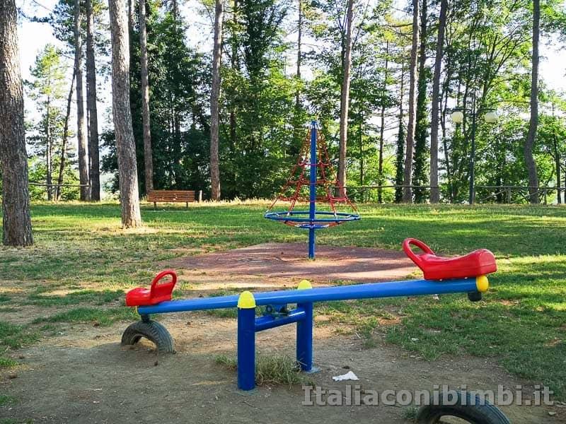 Arezzo - giochi al parco il Prato
