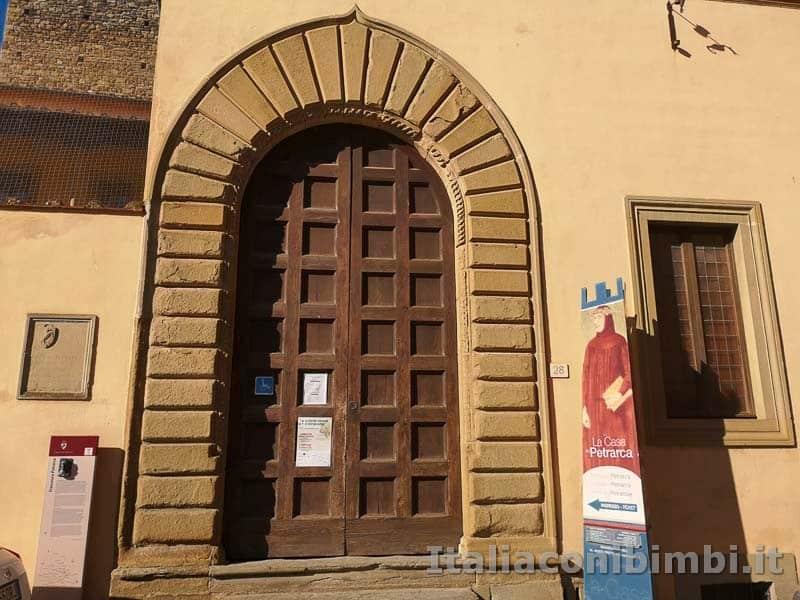 Arezzo - la casa di Petrarca