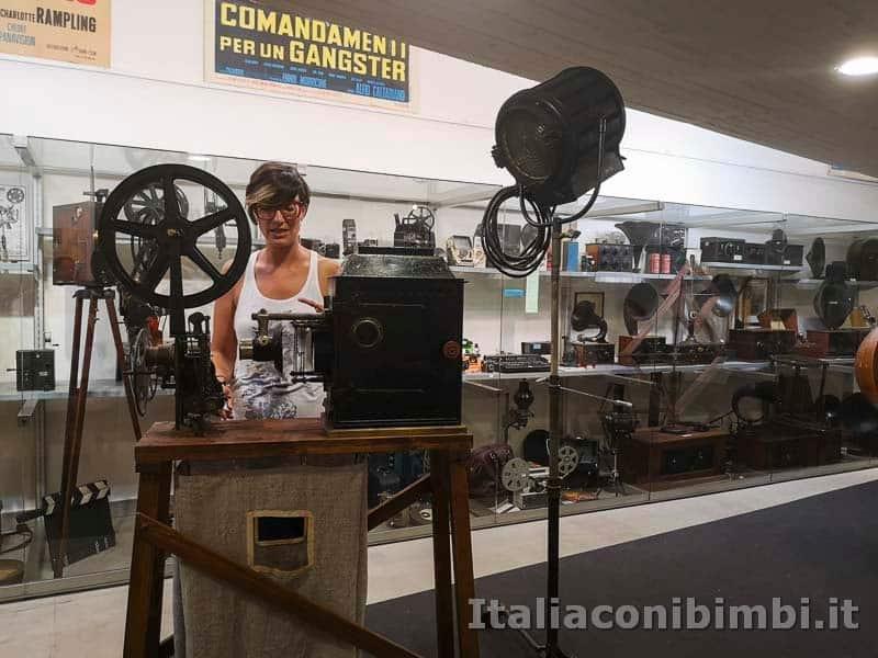 Arezzo - museo dei mezzi di comunicazione