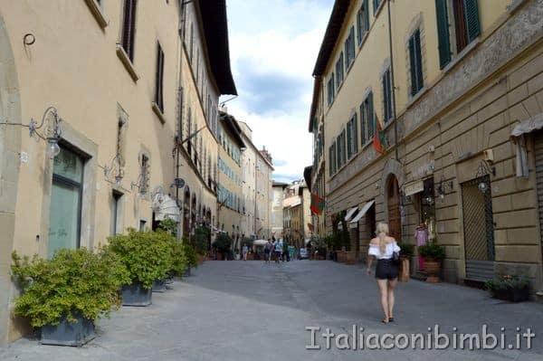 Arezzo vie centro