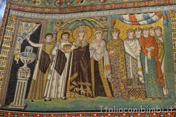 Basilica di San Vitale mosaico particolare