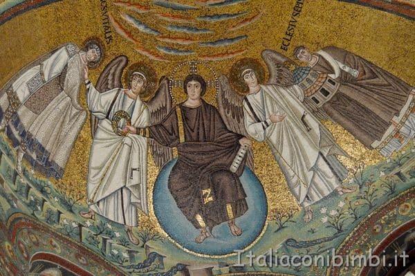Basilica di San Vitale mosaico a Ravenna