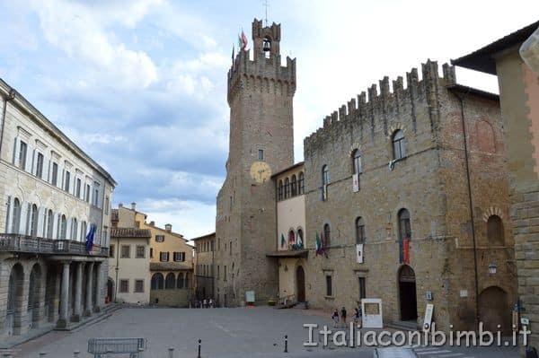 Piazza della libertà Arezzo
