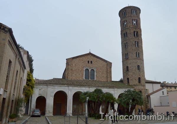 Sant'Apolinnare Nuova Ravenna esterno