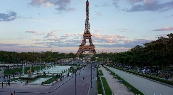 Tour Eiffel da Trocadero