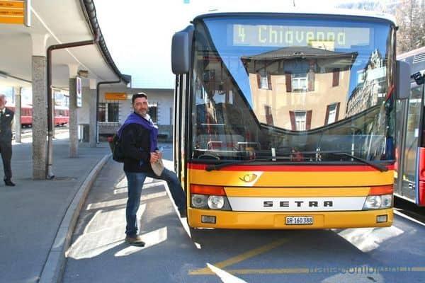 autobus in Valtellina