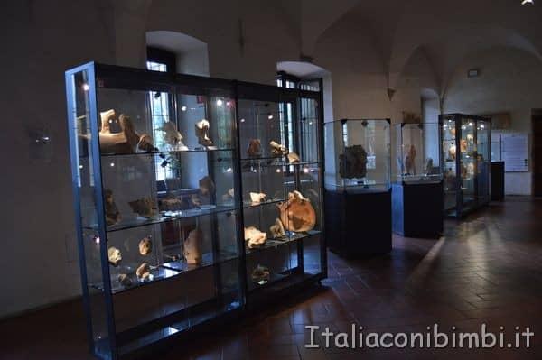 teche al Museo archeologico di Arezzo