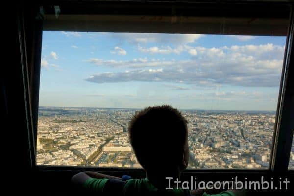 torre Eiffel terzo livello vista