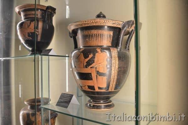 vasi al Museo archeologico Arezzo