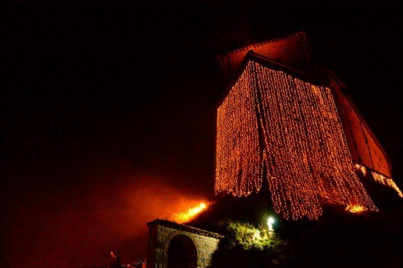 Il Castello di Natale a Frontone