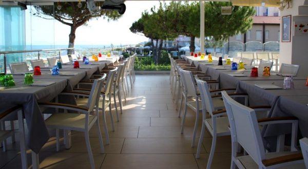 Ristorante fronte mare Hotel Nettuno di Jesolo