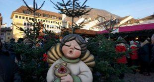 angelo al mercatino di Natale di Bolzano