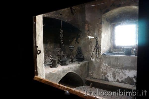 cucina al Castello di Burg di Merano
