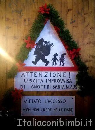 insegna mercatino di Natale Bolzano