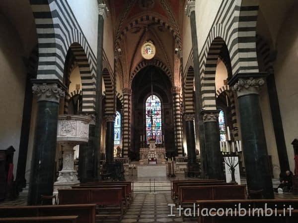 interno della Cattedrale di Santo Stefano di Prato