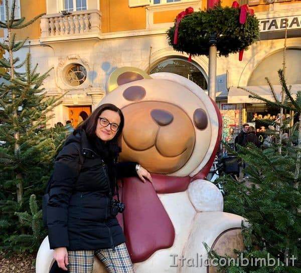 orso Thun mercatino Natale di Bolzano