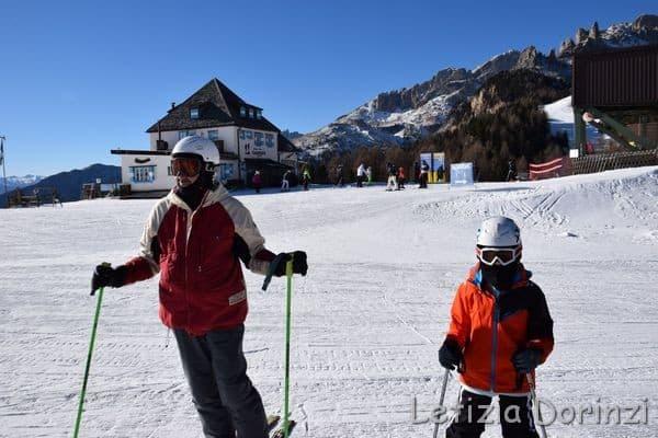sciare con la polizza sci Helvetia