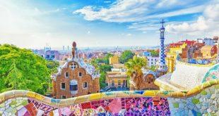 Barcelona, Spain, Park Guell