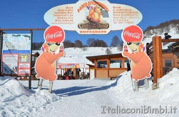 Parco di divertimenti Coppo dell'Orso Abruzzo