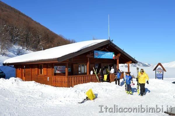 Scuola di sci Monte Pratello Abruzzo