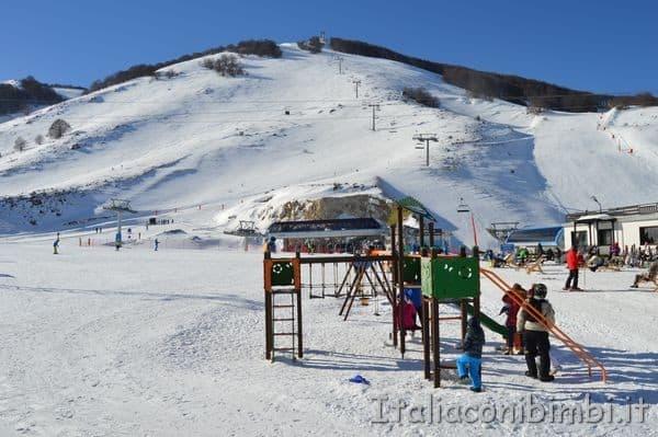 area giochi sulla neve Pizzalto