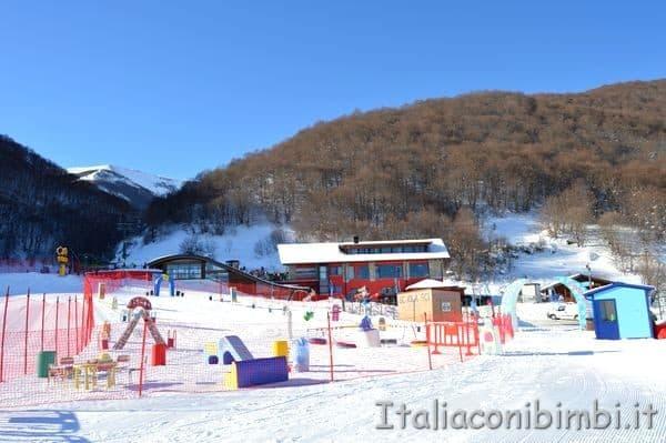 kinderpark Monte Pratello Abruzzo