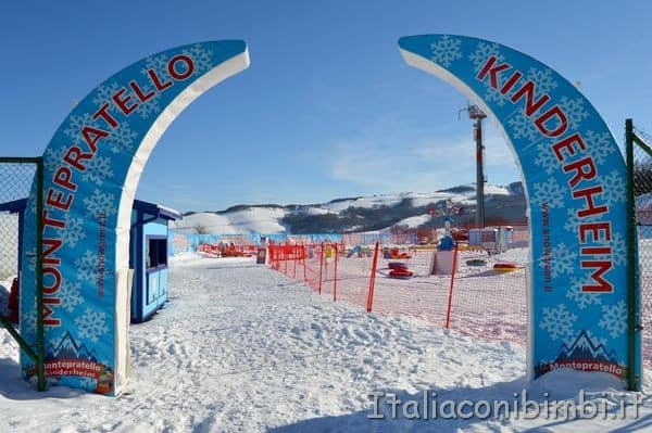kinderpark Monte Pratello Rivisondoli