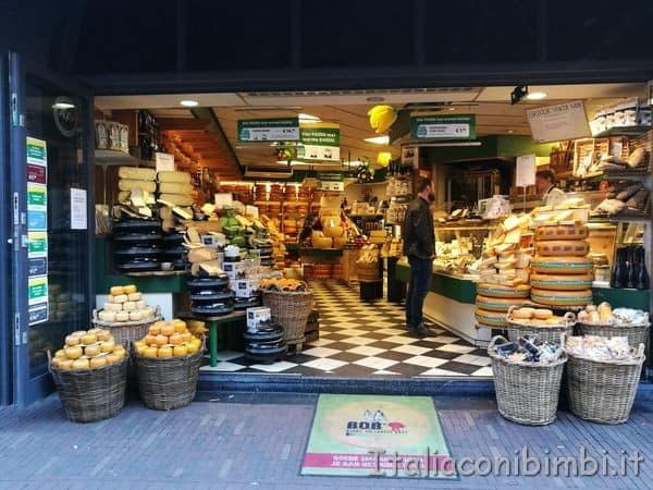negozio di formaggi Olanda