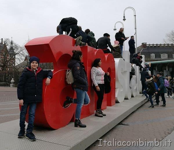 scritta I Amsterdam