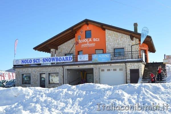 scuola di sci Pizzalto
