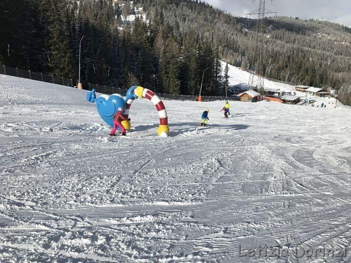 scuola di sci per bambini