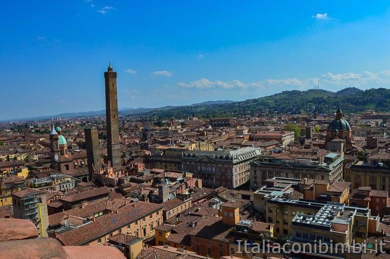 Bologna - panorama sulle torri di Bologna