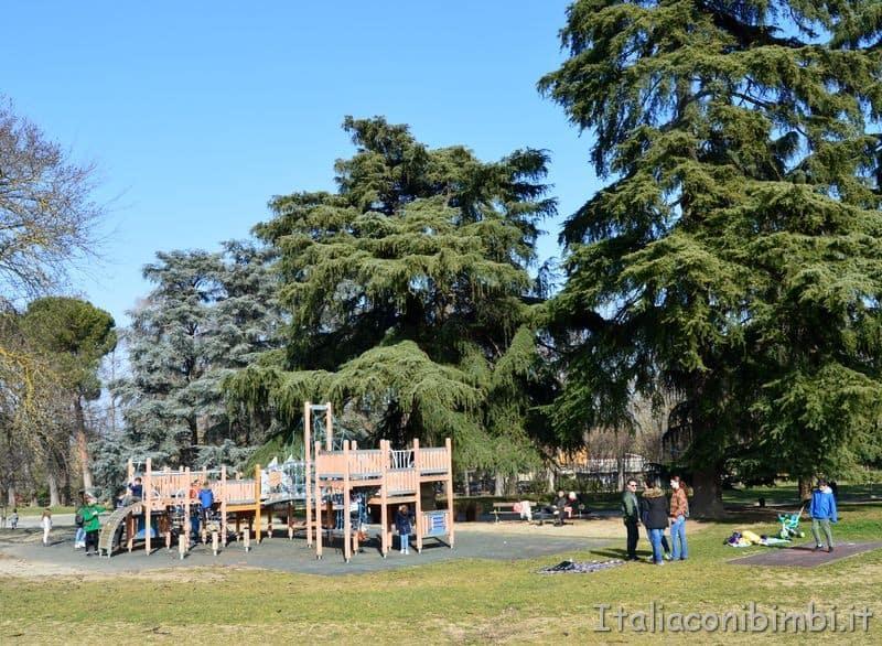 Parco giochi ai giardini Margherita