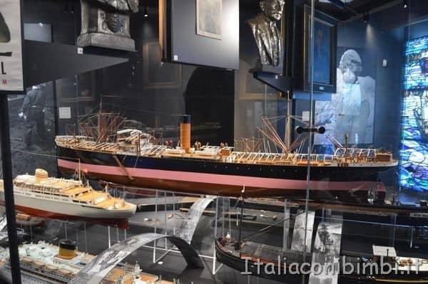 modellini nel Museo Marittimo Nazionale di Amsterdam