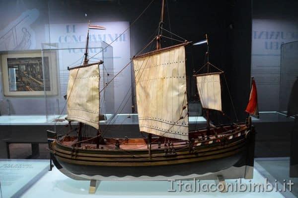 nave al Museo Marittimo Nazionale di Amsterdam