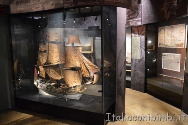 sale Museo Marittimo Nazionale di Amsterdam