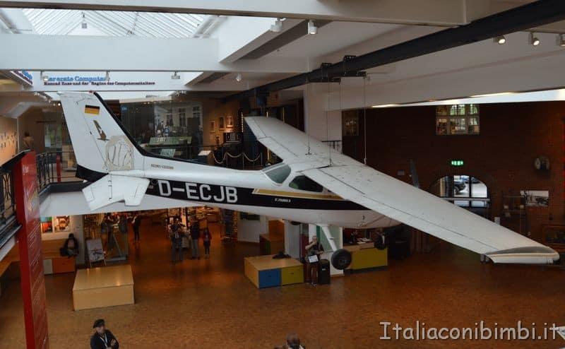 aereo museo della tecnologia Berlino