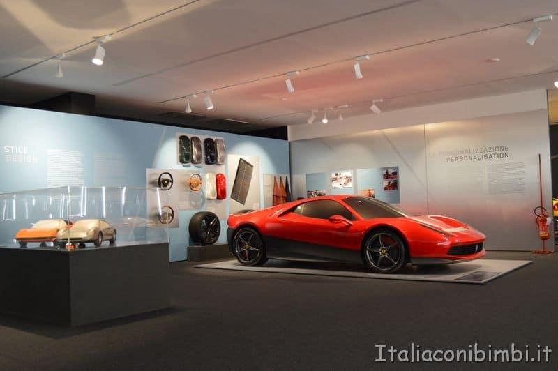 automobili al museo Ferrari Maranello