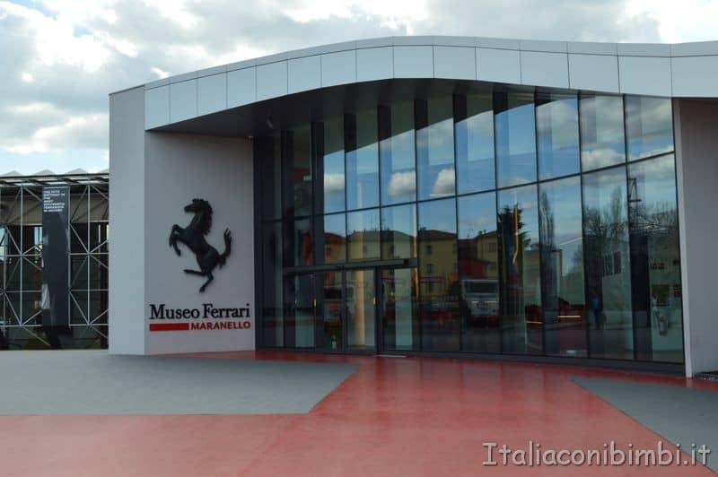 ingresso Museo Ferrari Maranello