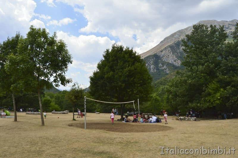 Camosciara - area picnic giochi