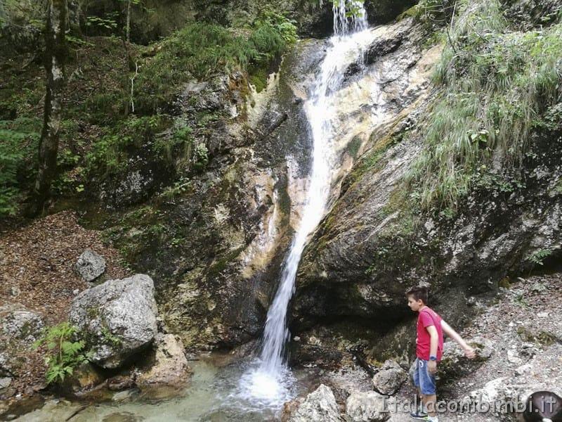 Camosciara - cascata delle Ninfe