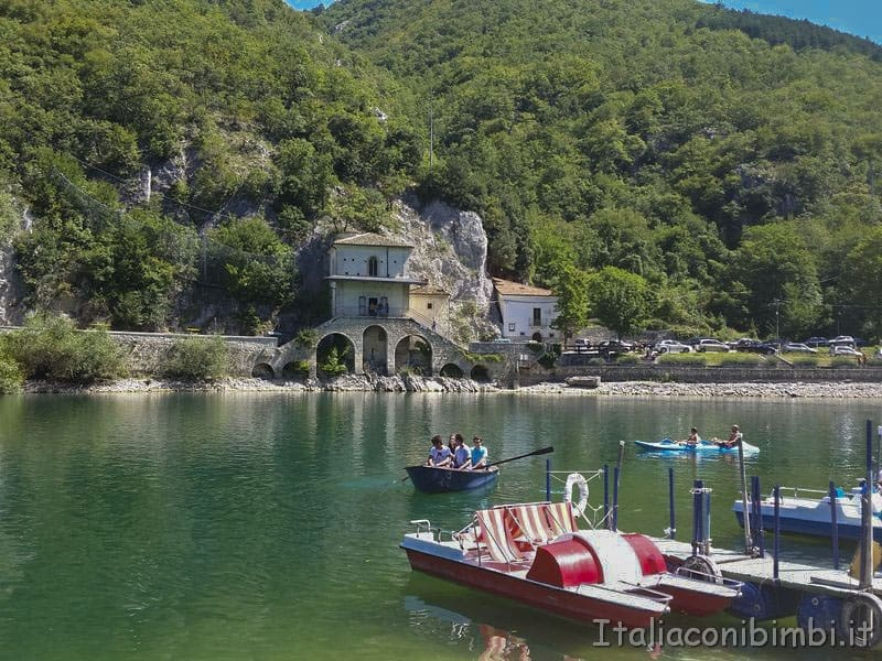 Lago di Scanno pattini