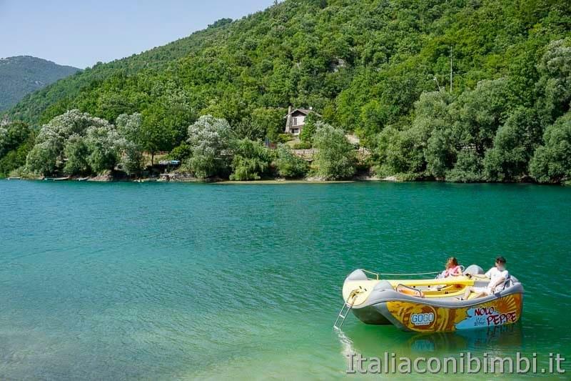 Lago di Scanno - barchetta