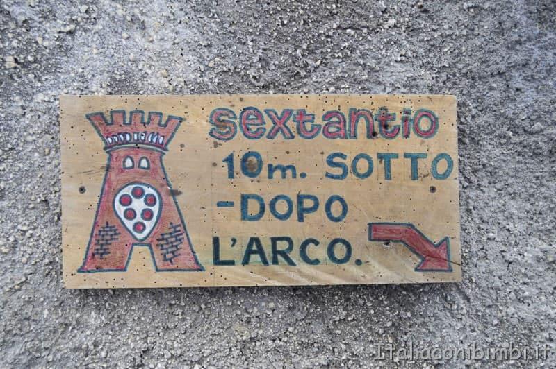 Santo Stefano di Sessanio - cartello