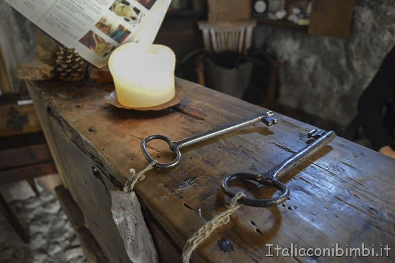 Santo Stefano di Sessanio - chiavi