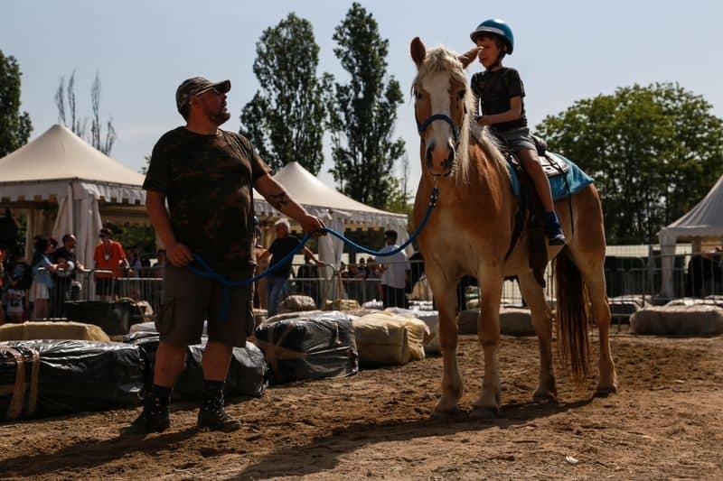 a cavallo a Seridò