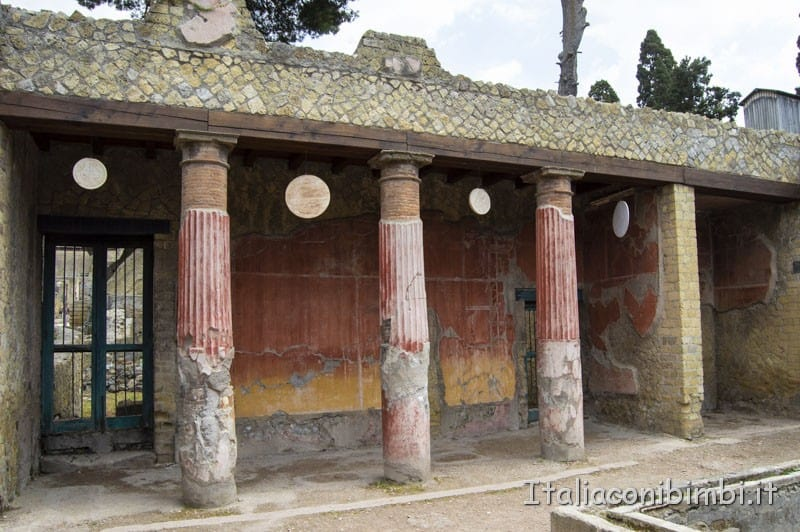 Ercolano-resti-ville