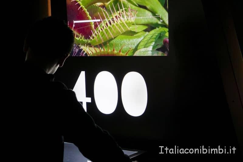 Museo delle scienze di Valencia- mostra al primo piano