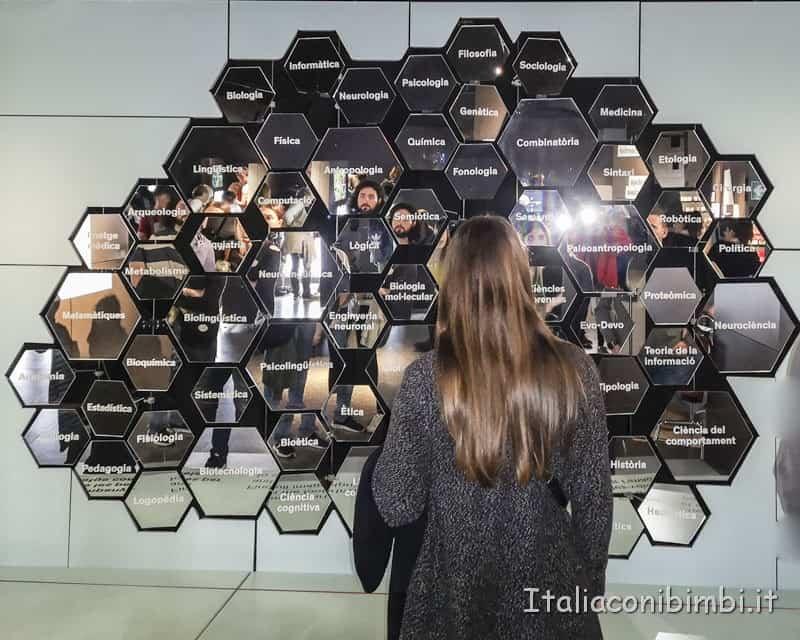 Museo delle scienze di Valencia- mostra sul linguaggio