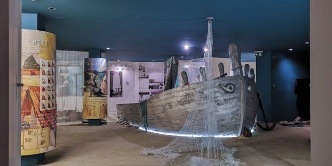 Museo dellla marineria di San Benedetto del Tronto - barca e reti